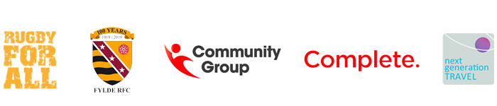Sponsorships Fylde RUgby Community Foundation